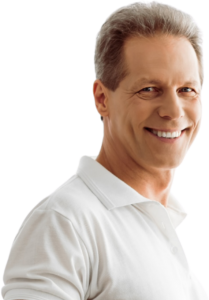 Aspire Rejuvenation - Middle Aged Man Smiling - Hormone Replacement Therapy