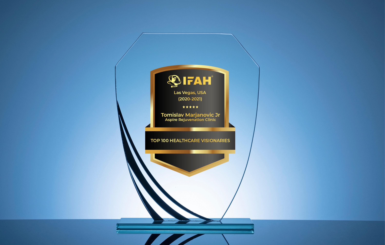 Award for Top 10 Healthcare Visionaries