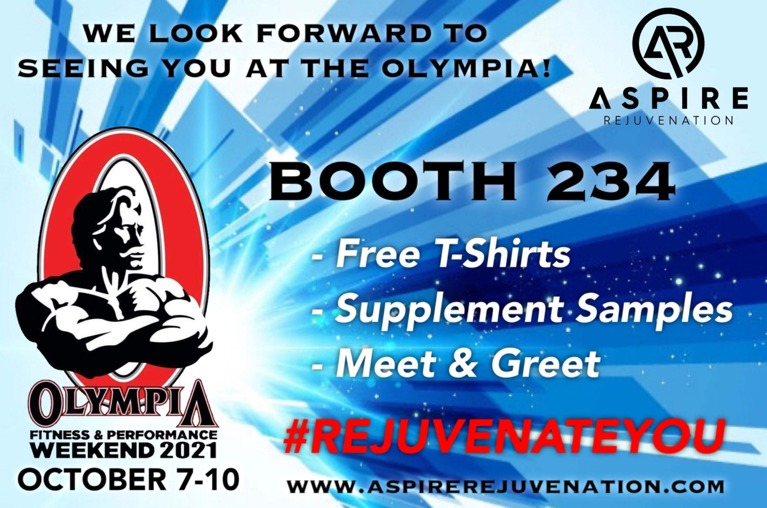 Olympia Fitness & Performance Weekend 2021