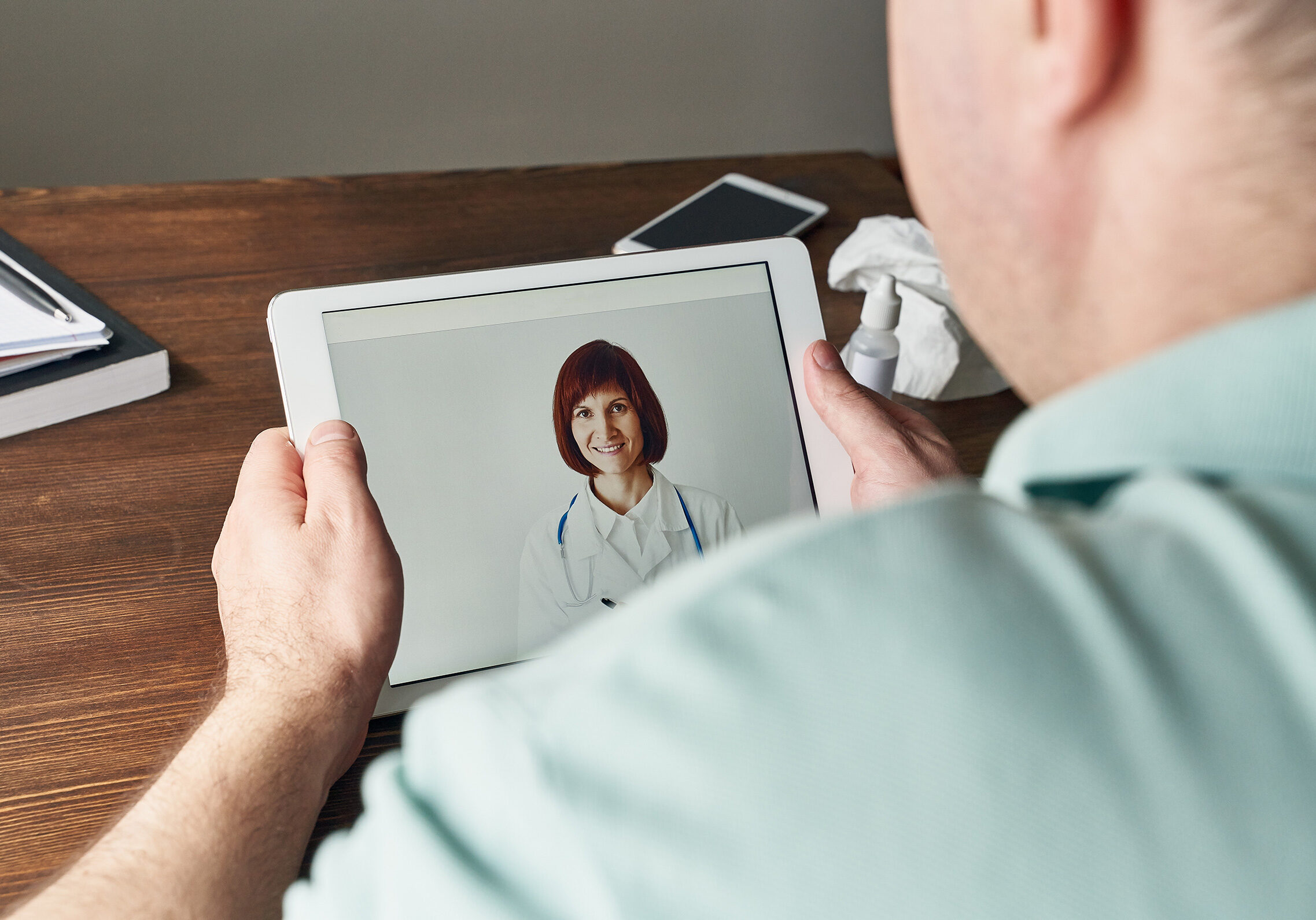 Online consultation with a physician